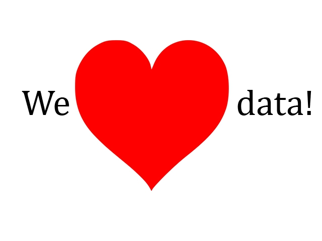 We love data